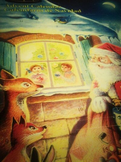 Christmas Advent Calendar Christmas Is Coming Never Too Old  21 More Days