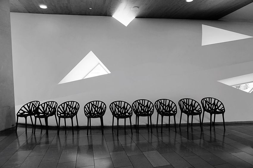 Tel Aviv Museum Of Art Chairs Repetition Emptychairsproject Empty Empty Chair Light And Dark Blackwhite Architecture_bw Windows