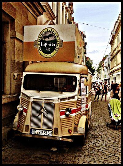 Streetphotography Classic Cars Brn Dresden Neustadt
