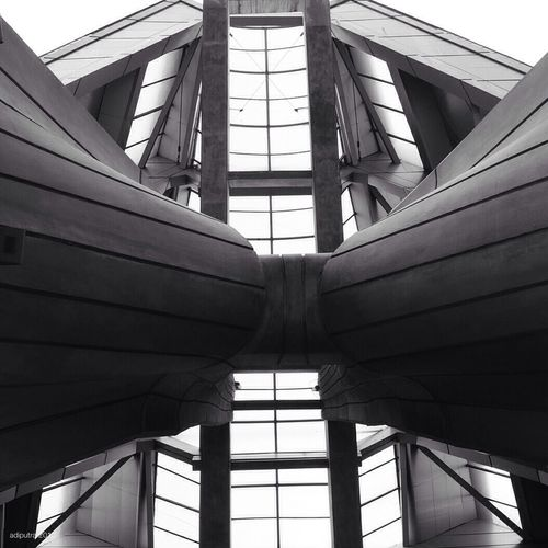 Architecture Blackandwhite Jakarta