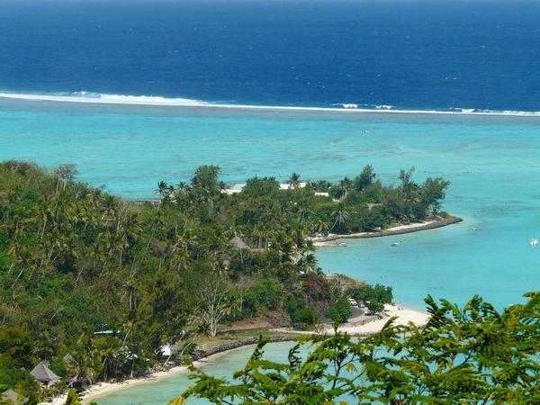 Fakarava Bora Bora  Beach Day Landscape Nature No People Outdoors Overwater Bungalow Polynesian Sea Tree Water Vegetation
