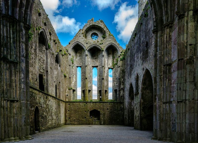 Rock Of Cashel Ireland🍀 Mystic Old Castle Old Buildings The World Is Stone The Architect - 2016 EyeEm Awards