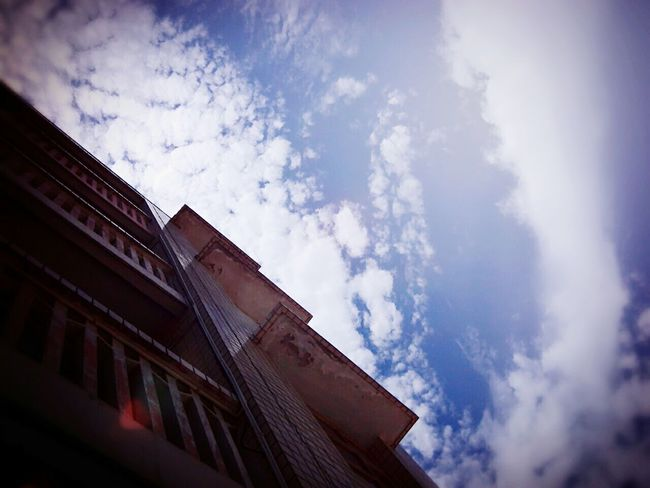 Built Structure Sky Building Exterior Architecture Cloud - Sky Low Angle View No People Day City Outdoors