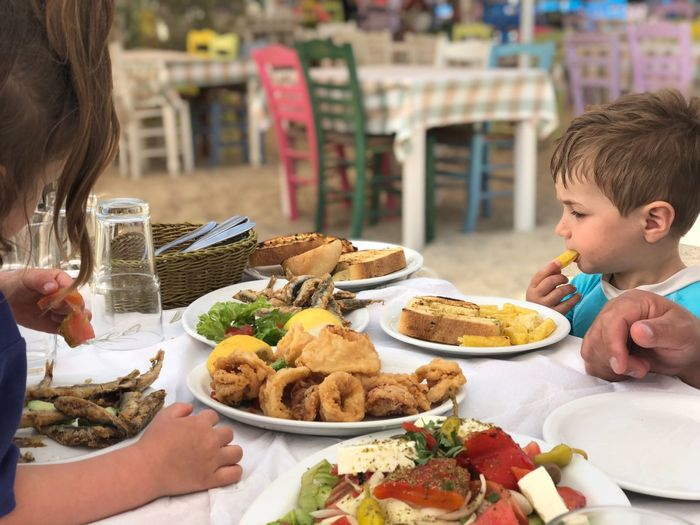 Food And Drink Food Plate Childhood Ready-to-eat Table Child Men Lifestyles Women Real People Eating Freshness Meal Boys Offspring People Males  Meat Celebration