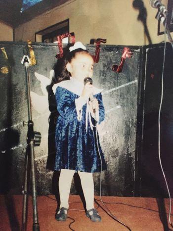 Desde chiquitita quise ser cantante 😂😂😂😂