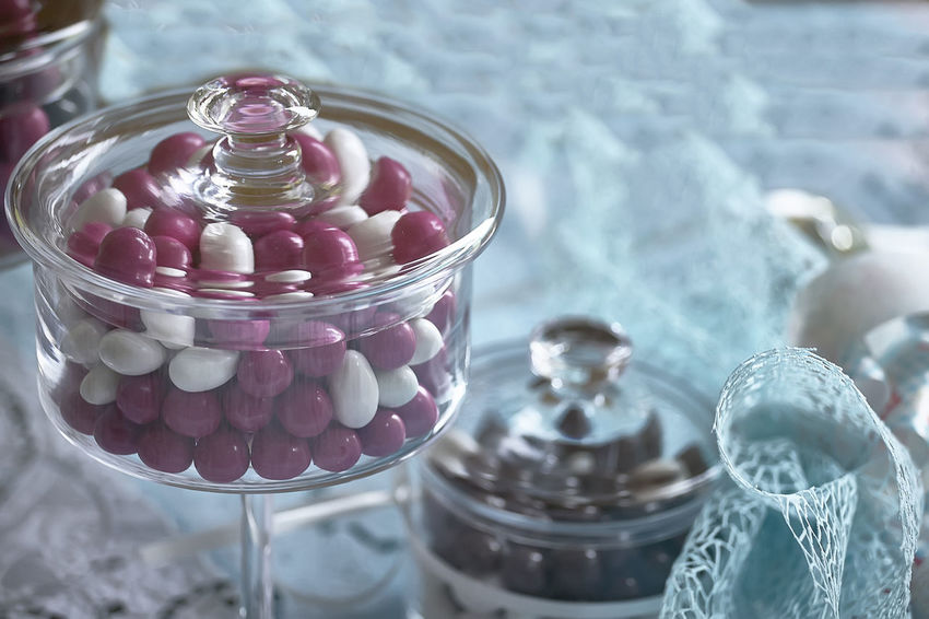 Abundance Bonbonniere Candy Close-up Container Day Focus On Foreground Food Food And Drink Glass Glass - Material High Angle View Indoors  Jar Large Group Of Objects No People Selective Focus Still Life Sweet Sweet Food Table Temptation Transparent