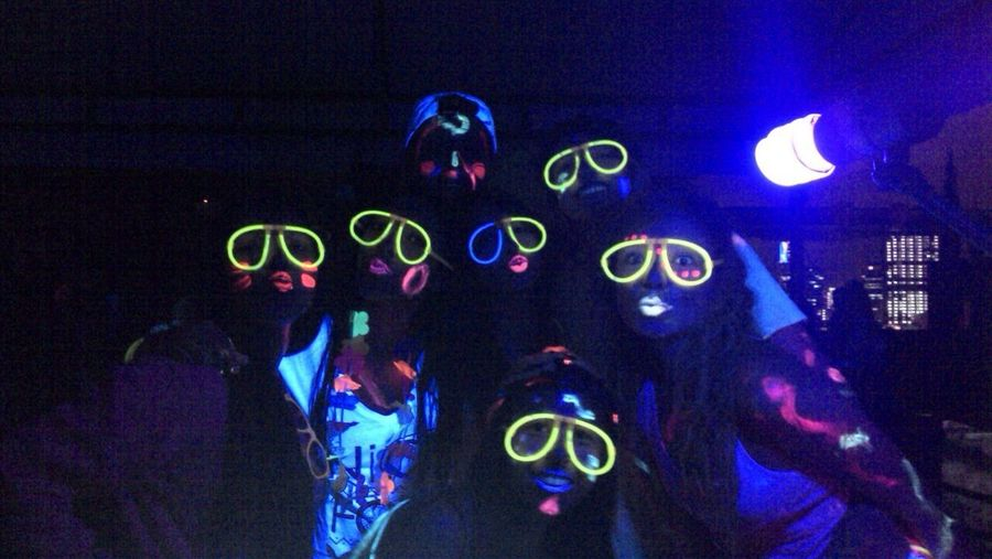 Neon Party Friends