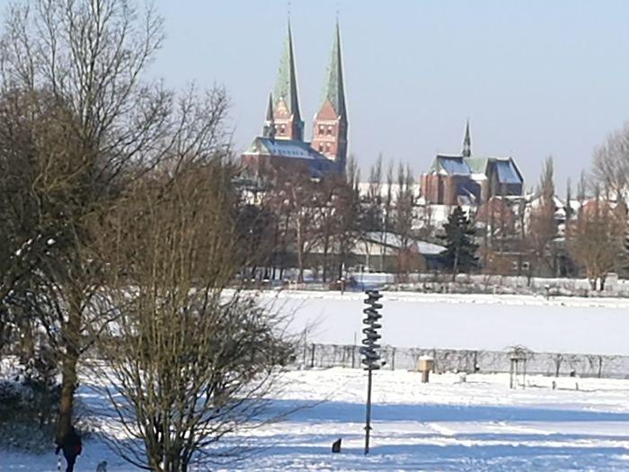 Dom zu Lübeck, Blick von der Wakenitz!!