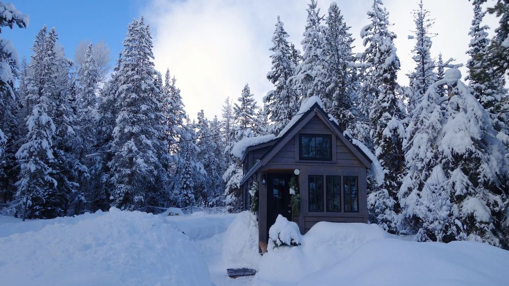 Off grid Tiny House in the mountains. Remote Location Tiny House Living Cabin In The Woods Minimalism Mountain Life Off Grid Simple Living Solar Powered Sustainable Tiny House  Tiny House On Wheels