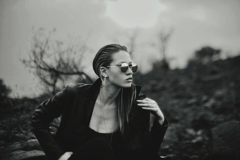 Me trix MeMyself&I Mexican Girl Taking Photos That's Me Portraits EyeEm Best Shots - Black + White