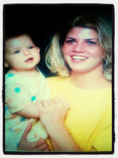 Me As A Baby And My Mommy