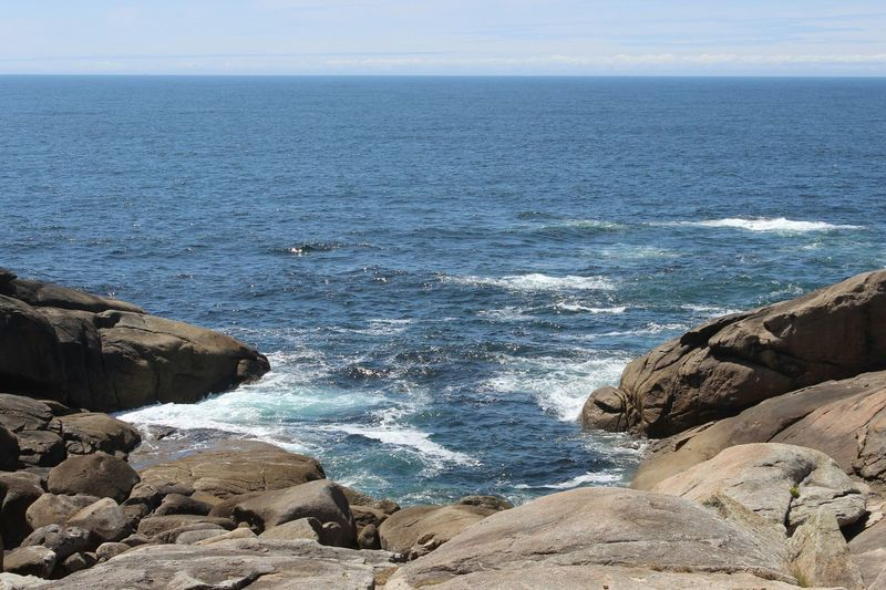 Intotheocean Taking Photos Paisaje Landscape Beautiful Amazing Place Muxía Galicia SPAIN Protecting Where We Play Thekiomicollection Blue Wave