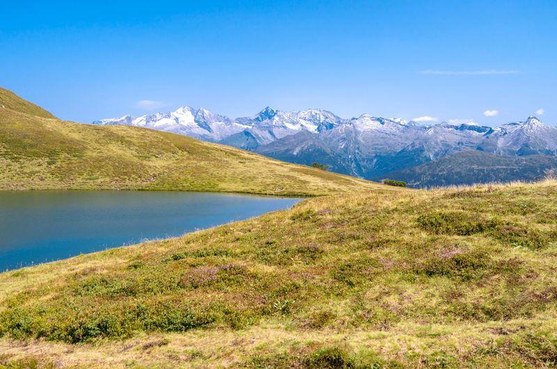 Alpine lake in