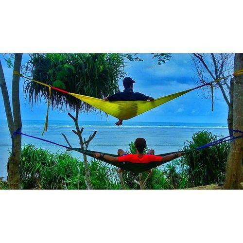 Orang bogor bilang SELOWE! Beach Hammockindonesia Vscocam VSCO NGADOORS