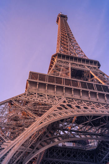 Paris at night! Architecture Built Structure Tower Sky Travel Destinations City Tourism Low Angle View The Past History Tall - High Travel Metal Building Exterior Clear Sky No People Nature Day Outdoors Iron Eiffel Tower View From Below