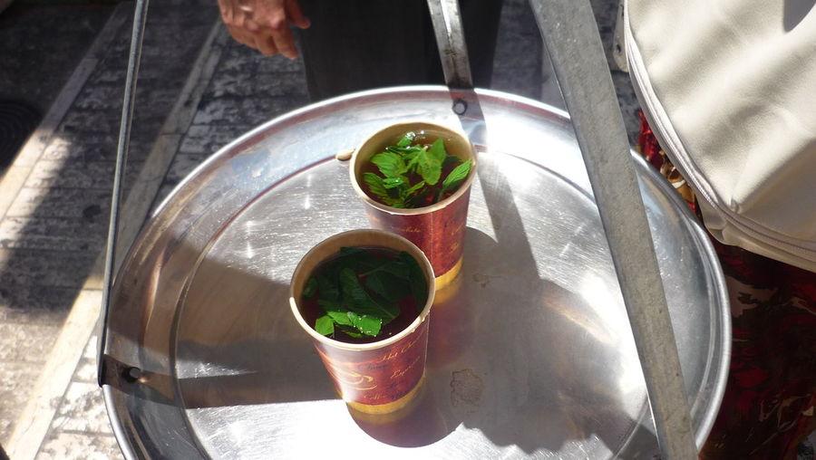 Mint Tea Palestine Street Bethlehem Streetfood