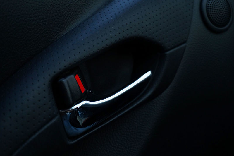 Blue Car Car Interior Cars Close-up Dark Darkness Darkness And Light Detail Door Focus On Foreground Handle Minimal Minimalism Minimalist Minimalistic Minimalobsession No People Part Of Red Selective Focus Stationary Still Life