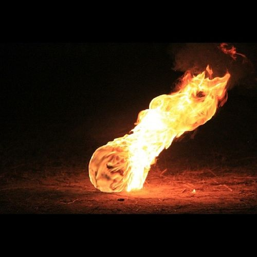 Sepak Bola api... Instanature Instagalery Instanesia Instanusantara ig_indonesia_ instaart canon sedulurnesia pangkalanbun fire ball