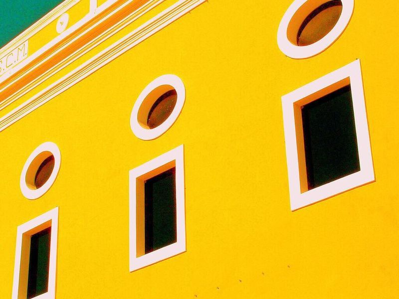 Window Building Exterior Yellow No People Architecture Day Built Structure Outdoors Close-up EyeEmNewHere