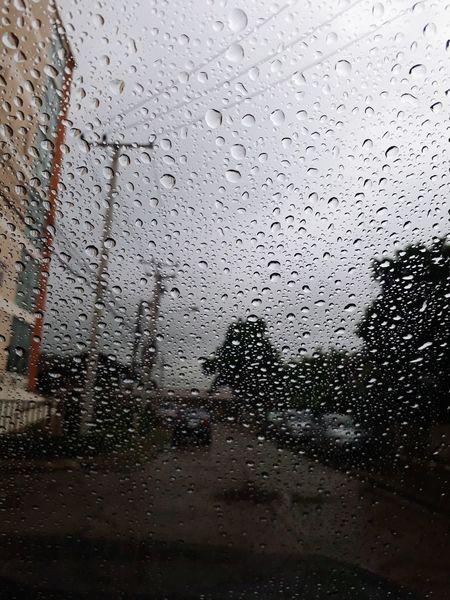After rain drops dew on the car glass Water Backgrounds Drop Wet Window RainDrop Car Glass - Material Close-up Sky Rainy Season Car Wash Rain Torrential Rain Water Drop Rainfall