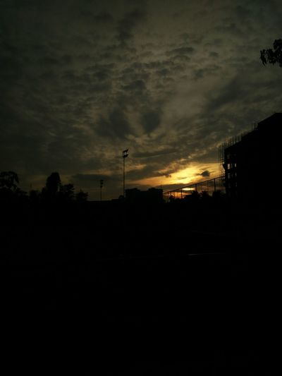 The sunset of Bangalore Sunset Landscape Dark Sky Sun Scenics No People Cloud First Eyeem Photo