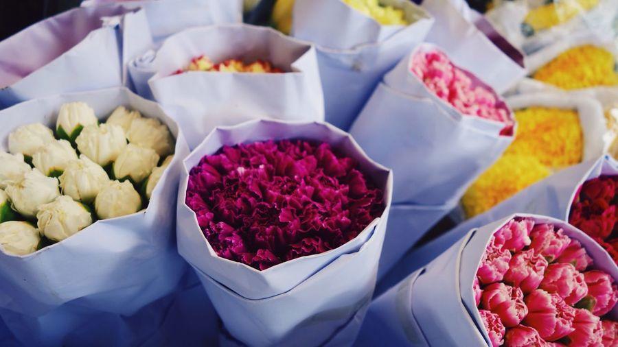 Bouquet Flowers Petal Petals Fragrant Fragrance Smell Flora Flower Market ASIA China HongKong Hong Kong
