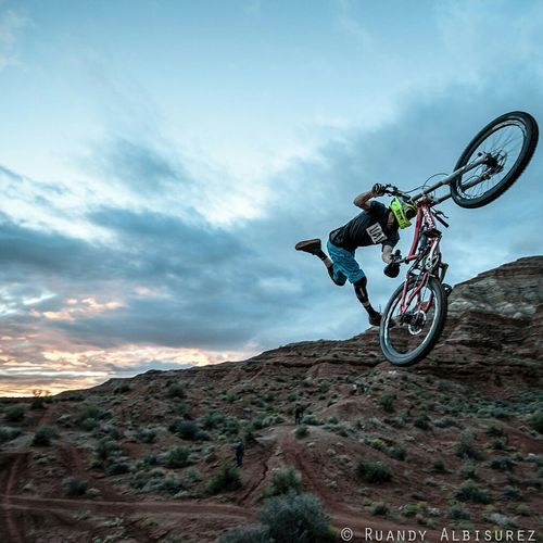 Indian Air. James Doerfling. Red Bull Rampage 2013. Utah Rampage  Redbullrampage RedBull Knolly Knolly Bikes Bike Mountainbike MTB Unit Clothing