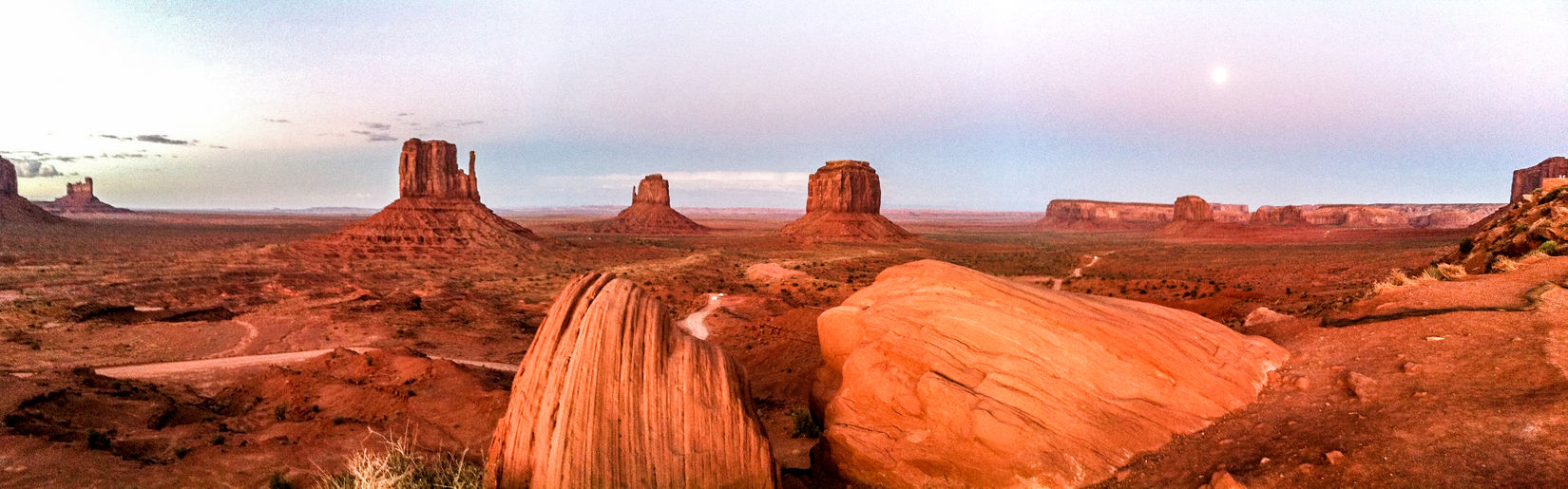 Monument Valley, USA IPhone4 Pano