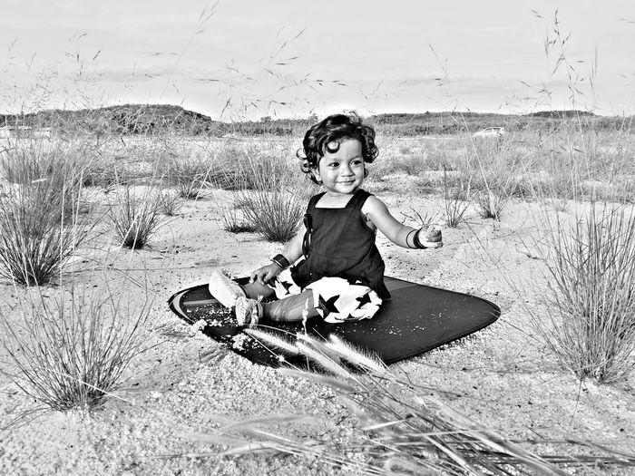 Cute Toddler Girl Outdoors