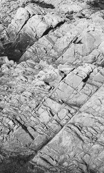 Full frame shot of rock on land