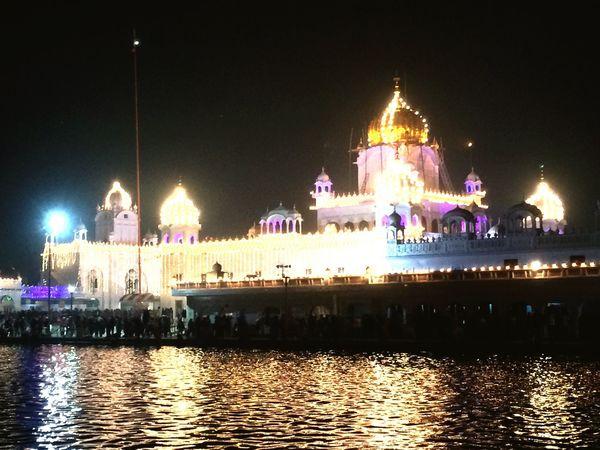 Festival Lights Gathering Worship Worshippers God Sacredness Atmosphere