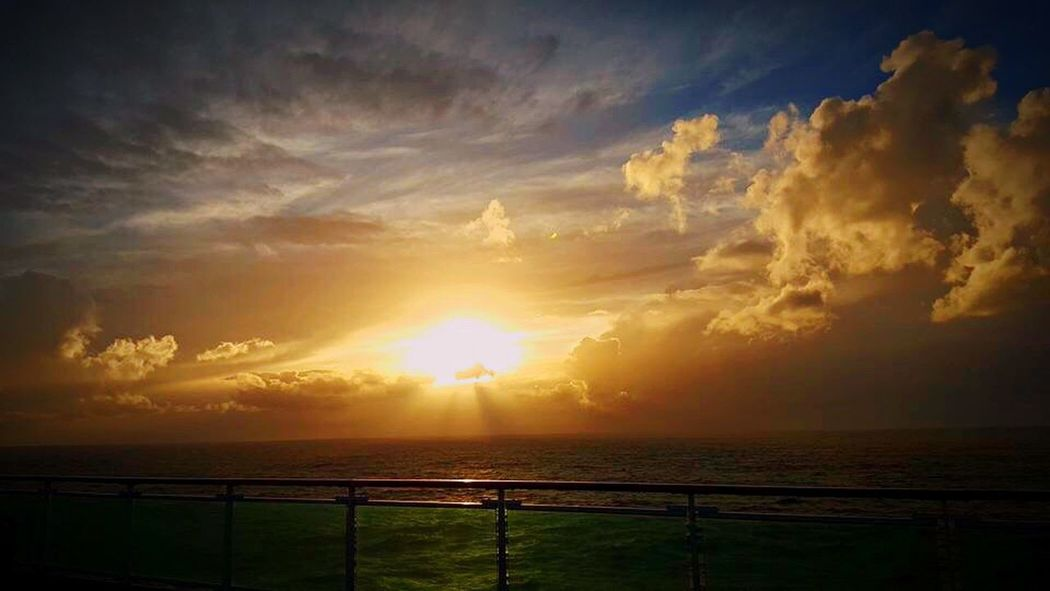 Sunset_collection P&O Cruises Azura Cruise Ship Special👌shot EyeEm Best Shots Golden Sunset Sea And Sky Amazing View Breathtaking Heaven On Earth Paradise Bestoftheday Stunning_shots Beauty In Nature Beauty Redefined Sunlight Tranquility Witnessserenity Blessed