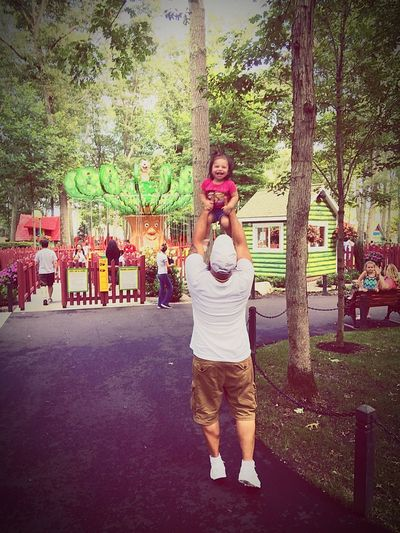 Funday Fatherhood Moments Fatherdaughter Full Length Casual Clothing Tree Young Adult Day Two People Outdoors Growth Real People Standing Young Women Togetherness Lifestyles Women Adult People Adults Only First Eyeem Photo