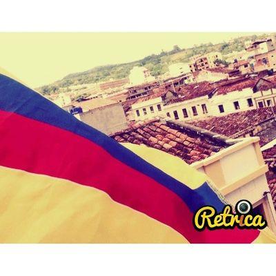 Orgullo colombiano. Colombia Mundial Tricolor .