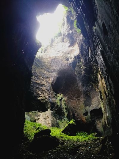 Cave Cave Adventure Nature No People Beauty In Natureat Gua Gomantong , Kinabatangan , Sabah Borneo