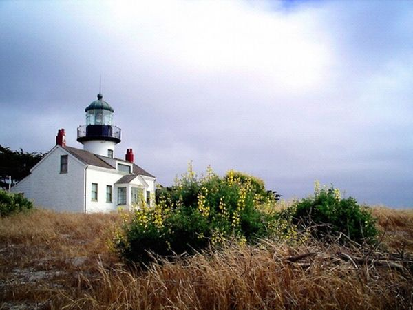 Travel Lighthouse Monterey Point Pinos