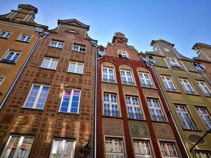 Gdansk Gdańsk. Gdansk, Poland Architecture Low Angle View Building Exterior History Travel Destinations No People