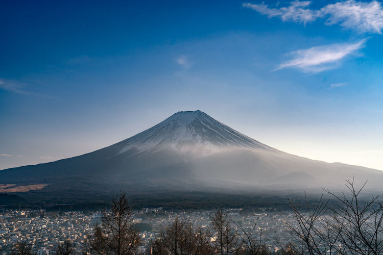 Mountain Scenics - Nature Sky Tranquil Scene Snow Beauty In Nature Volcano Tranquility Winter Cold Temperature No People Landscape Nature Mountain Peak Environment Snowcapped Mountain Non-urban Scene Cloud - Sky Outdoors Volcanic Crater
