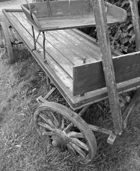 never seen this wagon before. must have passed this spot a thousand times Abdomen Ever Lasting Grass Monochrome Old Wagon Outdoors The Past Weathered