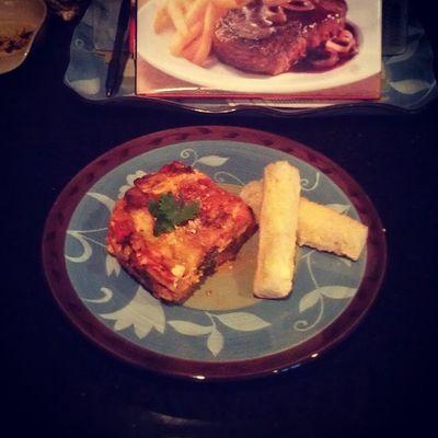 Veg lasagna Meatless