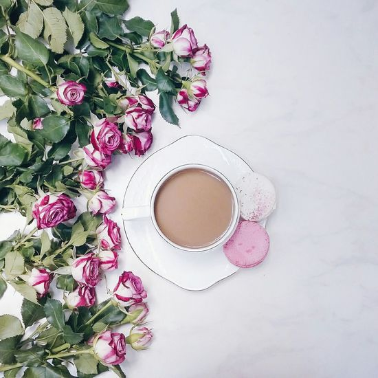 Good morning! Wonderful day! Cup Roses Coffee Coffee Time Flowers Morning Still Life Liquid Lunch