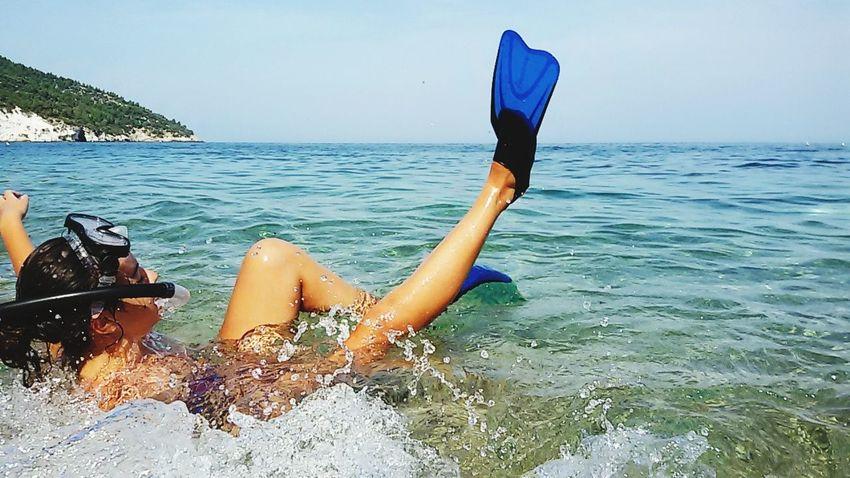 Love Sea Adriatic Sea Puglia Gargano Coast