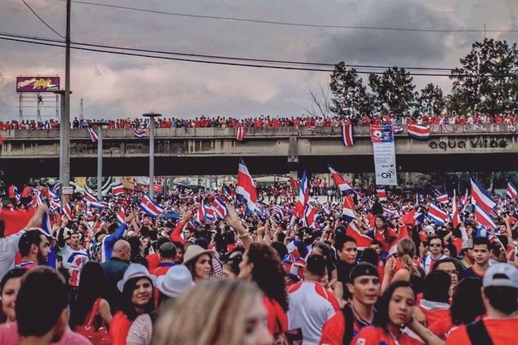 Costa Rica Worldcup2014 when we were ALL in happiness