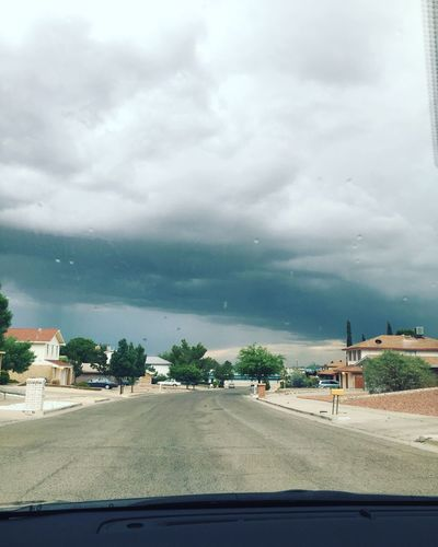 Stormy day El Paso, Tx 7.01.16