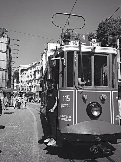 Monochrome Photography Travel Taksim Istiklal City Life