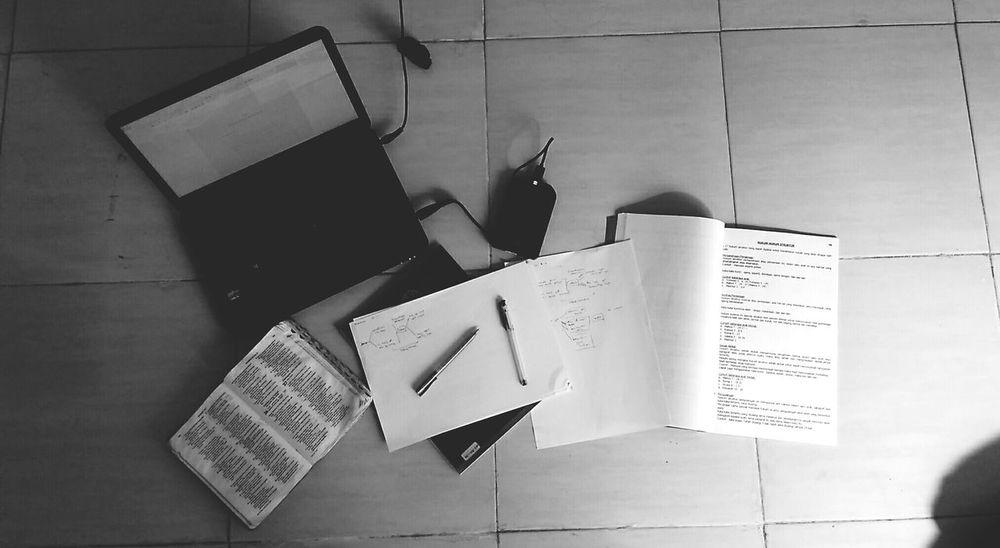 Desks From Above Blackandwhite Paper That's Me Preacher Man