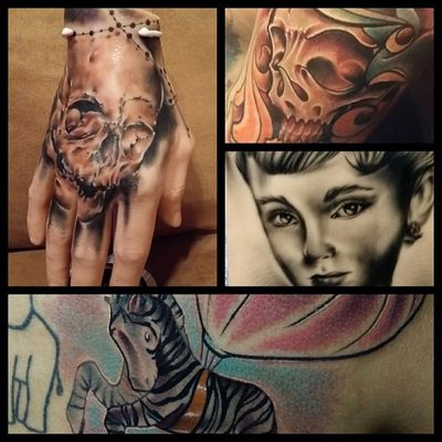 Attending hell city in ohio 2014 Hellcity2014 !! Get a hold of me if you are wanting to get tattooed. VERY LIMITED SPACE STILL OPEN! Will have a bunch of things to show in my booth with Samuel flores!