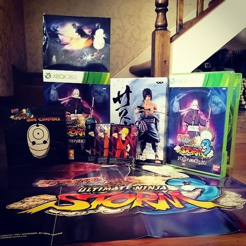 Fuck Yeaaaaahhhh :D Naruto Shippuden  Ultimate Ninja storm 3 manga anime awesome true dispair soundtrack sasuke madara kabuto obito xbox bandai namco cards statue
