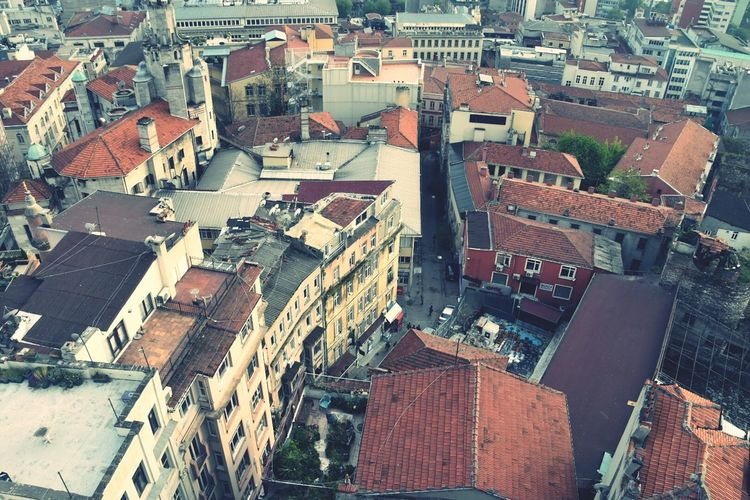From The Rooftop Turkey Estambul Istanbul Galata Tower