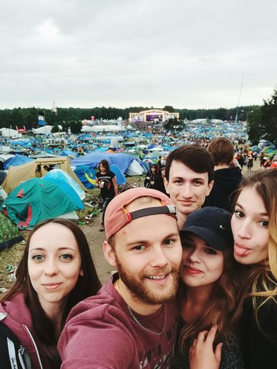 Adventure Club Friends Adventure Time Woodstock Poland Kostrzynnadodra Kostrzyn Nad Odrą People Together Music Brings Us Together